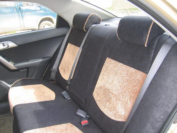 как установить чехлы на заднее сиденье киа церато 2006 года