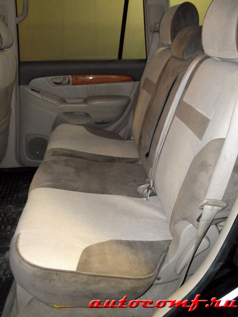 Авточехлы на Lexus GX470 / Готовые чехлы на иномарки ...