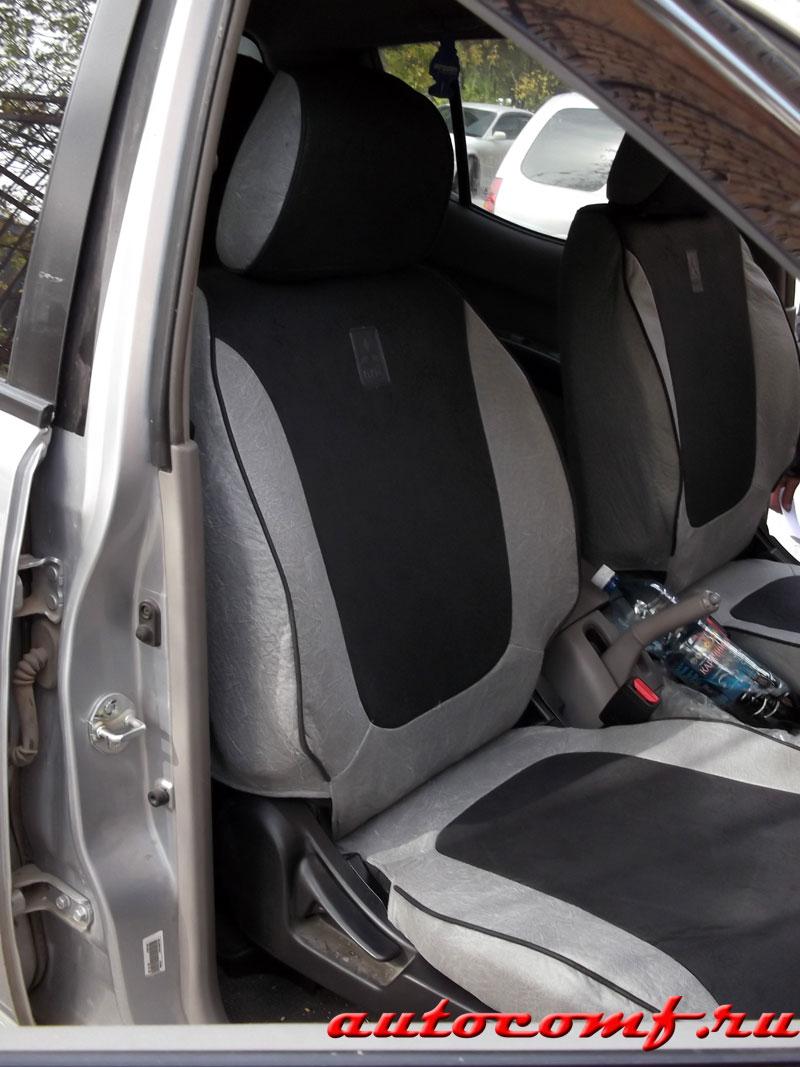Авточехлы для Мицубиси Л200, чехлы Mitsubishi L200, MW ...