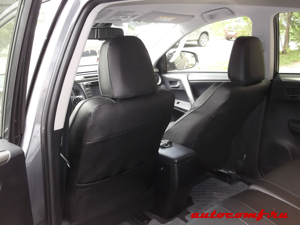 Авточехлы на Toyota RAV 4 четвертого поколения с 2013 г ...